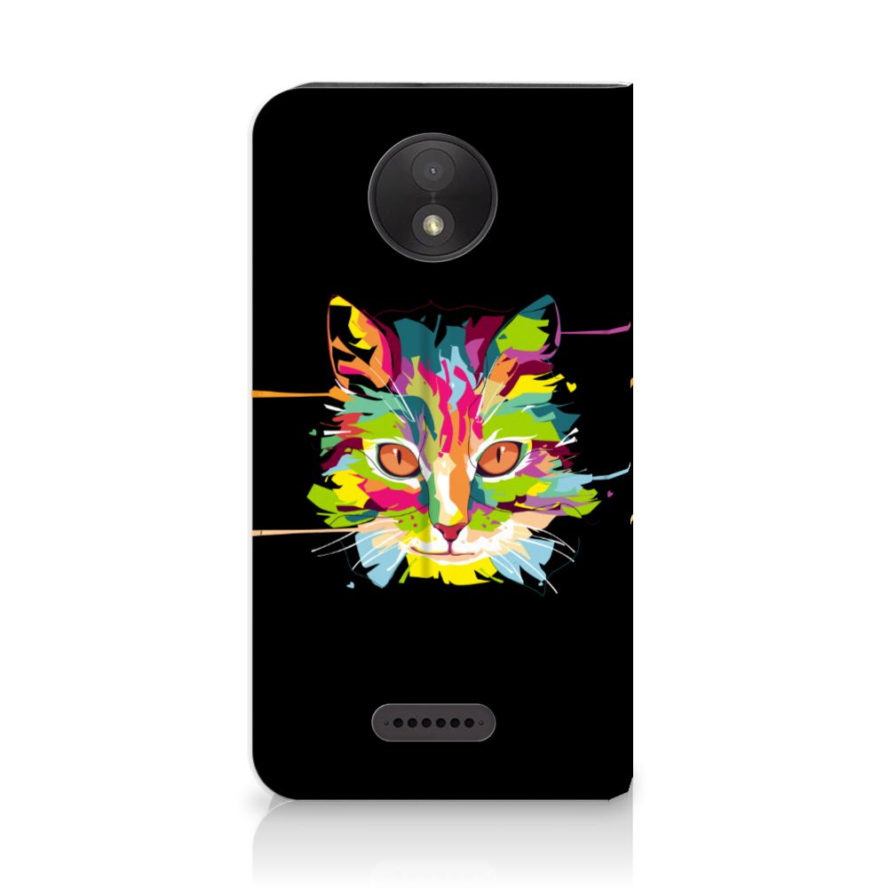 Motorola Moto C Plus Magnet Case Cat Color