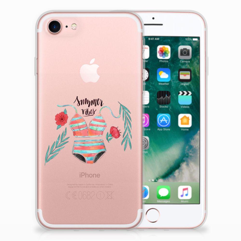 Apple iPhone 7 | 8 Uniek TPU Hoesje Boho Summer