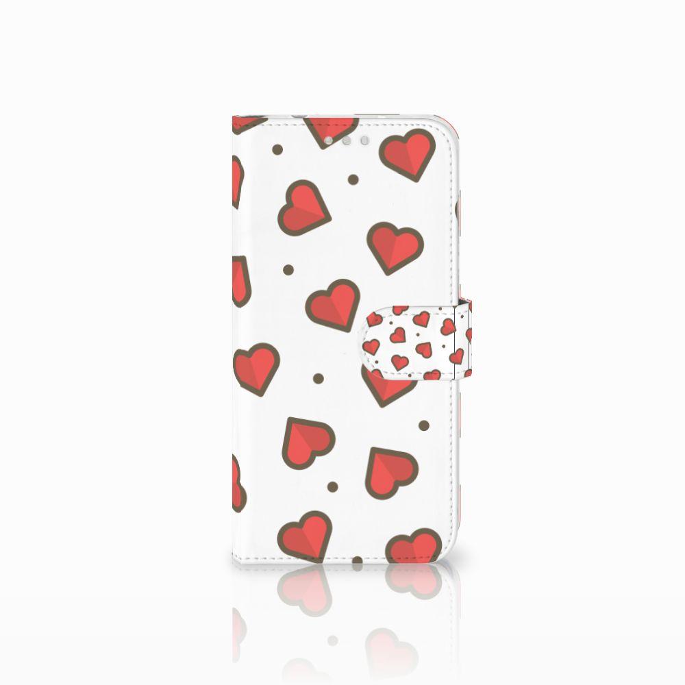 Huawei P20 Pro Boekhoesje Design Hearts