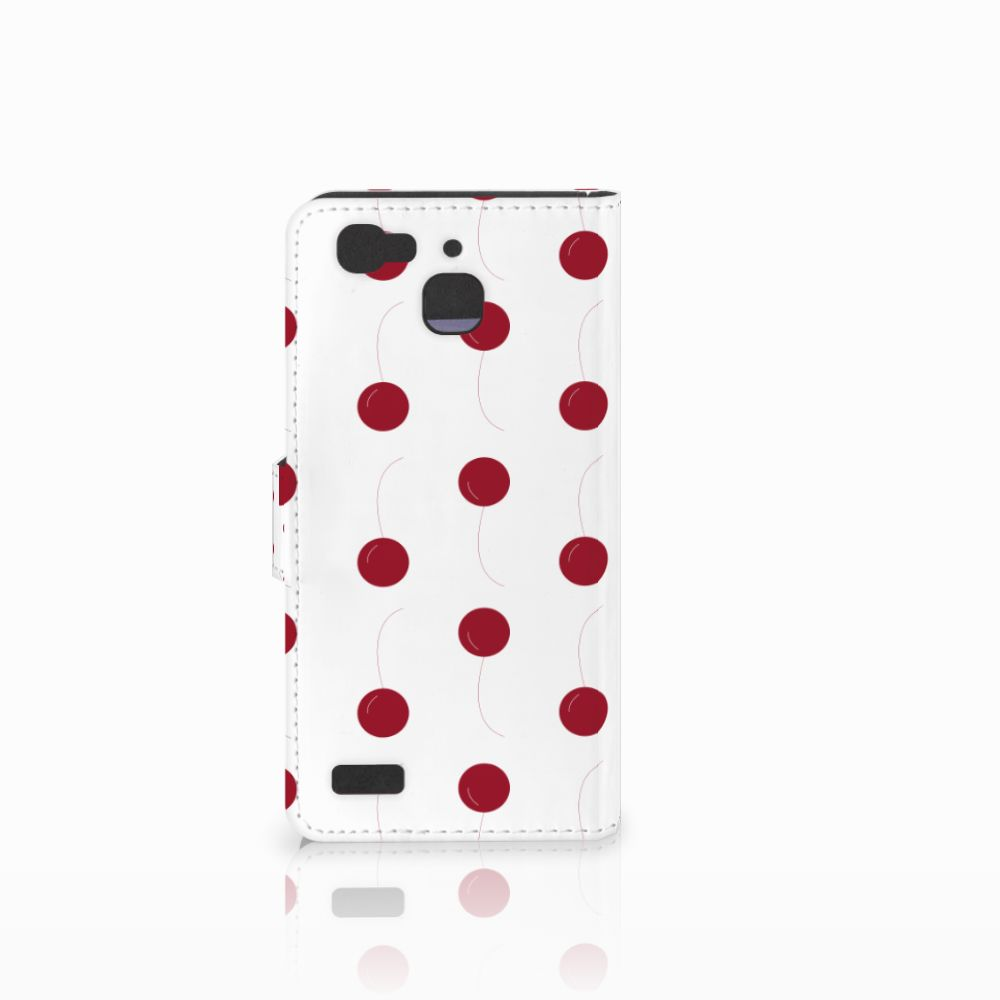 Huawei P8 Lite Smart (GR3) Book Cover Cherries