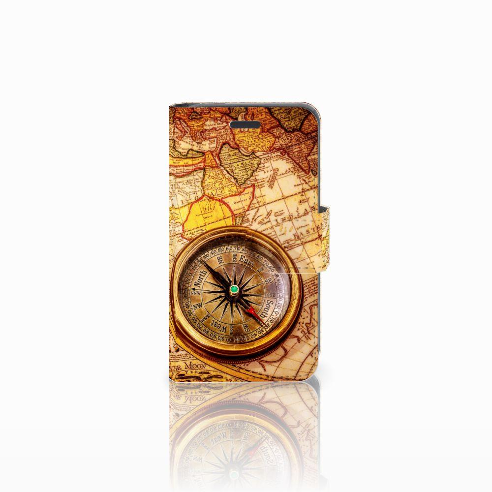 Nokia Lumia 520 Boekhoesje Design Kompas