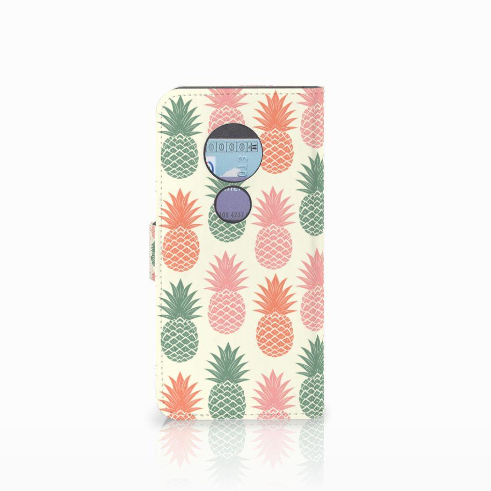Motorola Moto G6 Play Book Cover Ananas