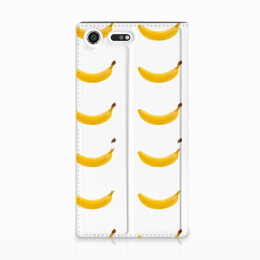 Sony Xperia XZ Premium Uniek Standcase Hoesje Banana