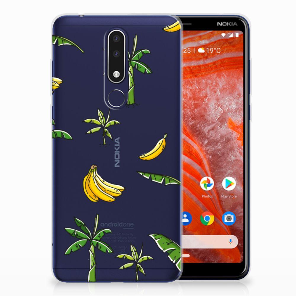 Nokia 3.1 Plus TPU Case Banana Tree