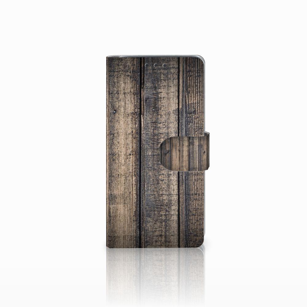HTC Desire 626 | Desire 626s Boekhoesje Design Steigerhout