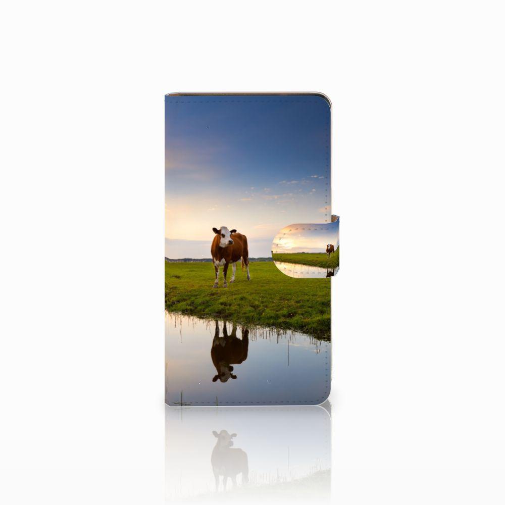Huawei Ascend G700 Boekhoesje Design Koe