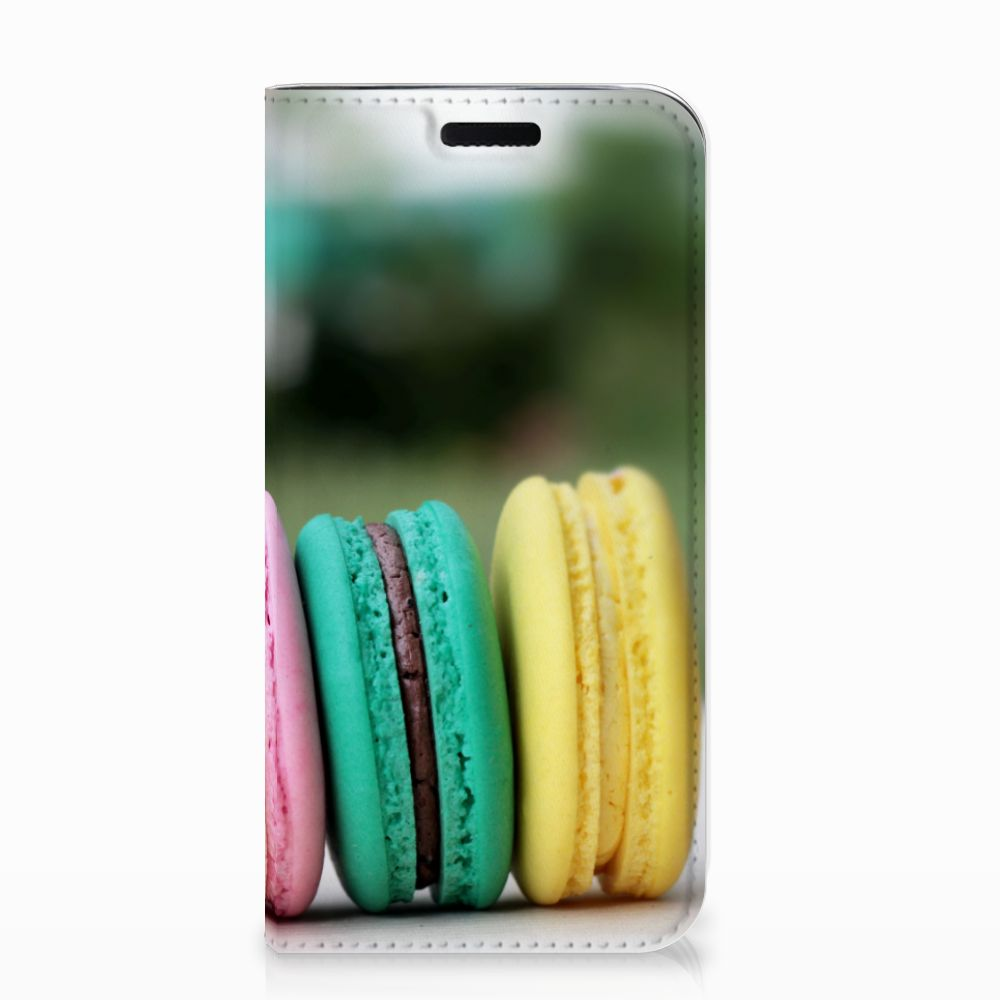 Samsung Galaxy J3 2017 Flip Style Cover Macarons