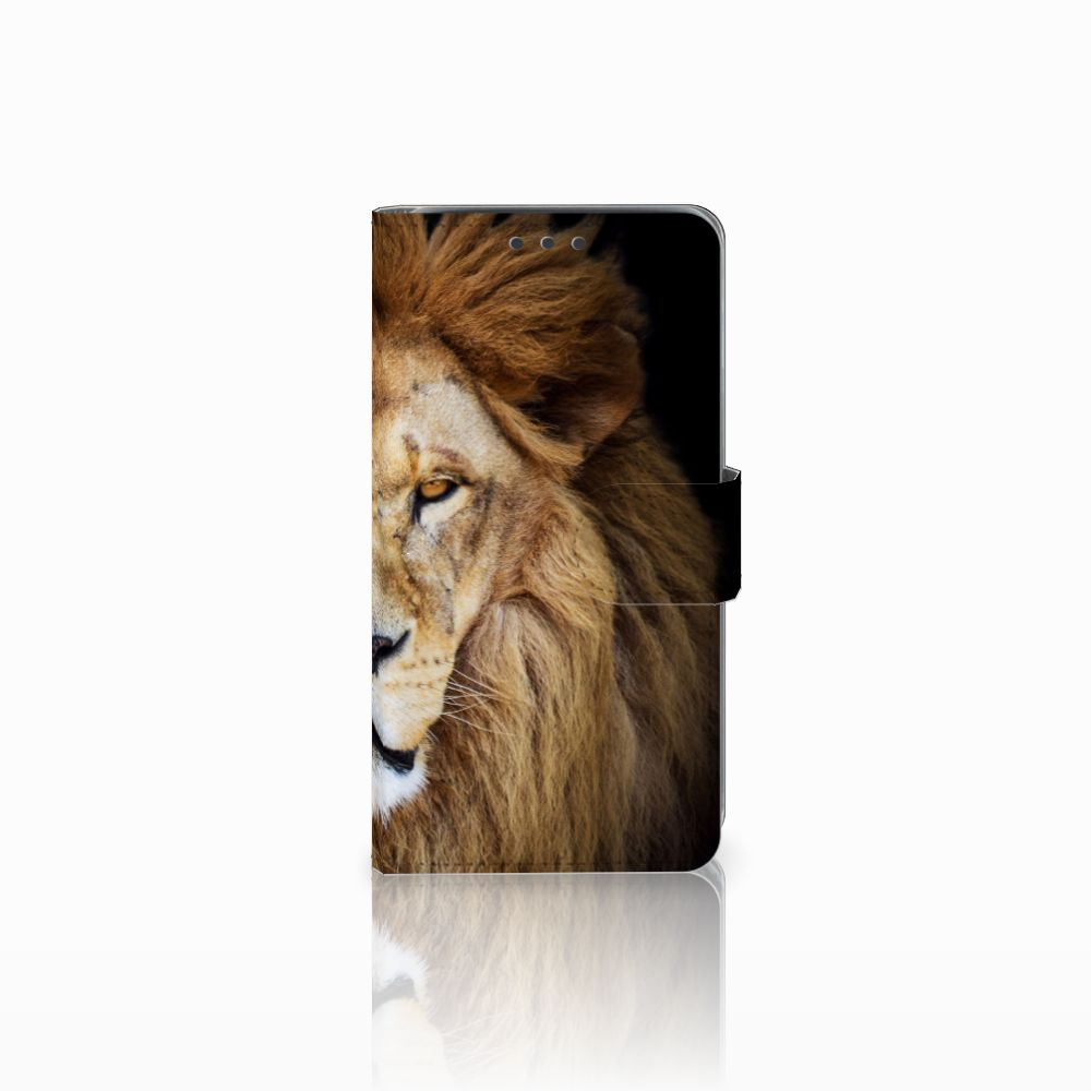 Samsung Galaxy J5 (2015) Boekhoesje Design Leeuw