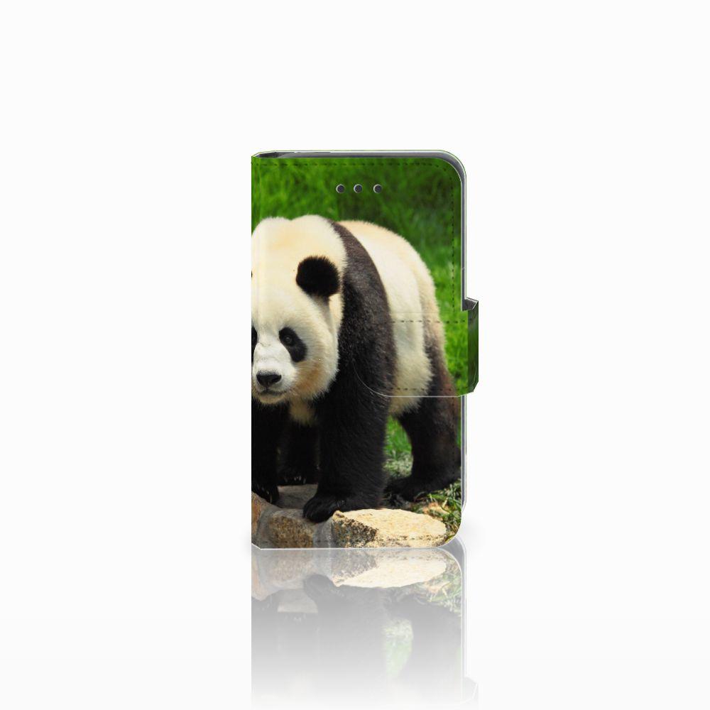 Nokia Lumia 530 Uniek Hoesje Opbergvakjes Panda