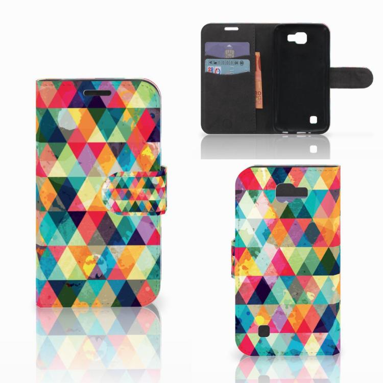 LG K4 Telefoon Hoesje Geruit