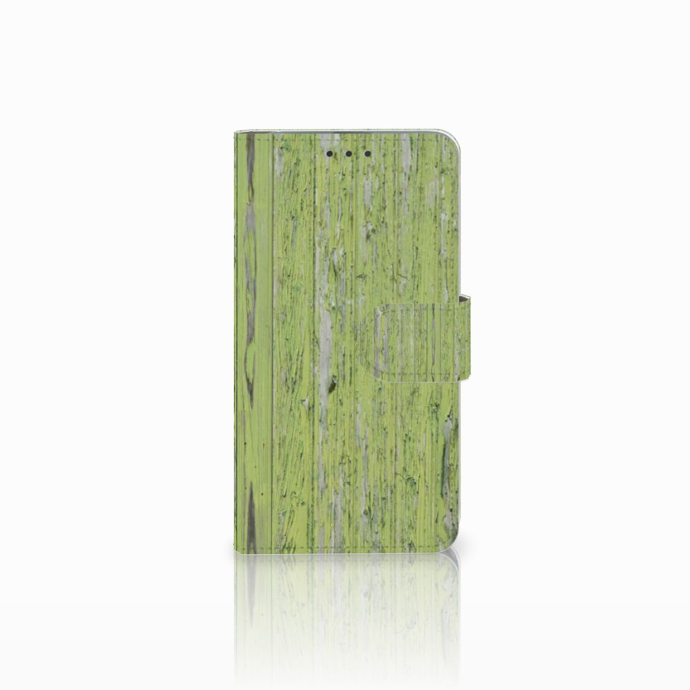 Microsoft Lumia 640 Boekhoesje Design Green Wood