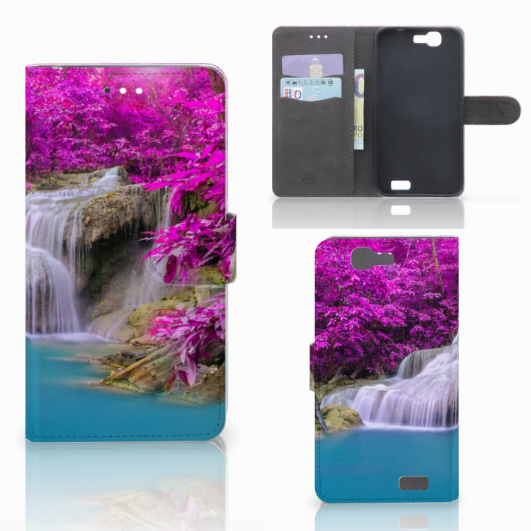 Huawei Ascend G7 Flip Cover Waterval