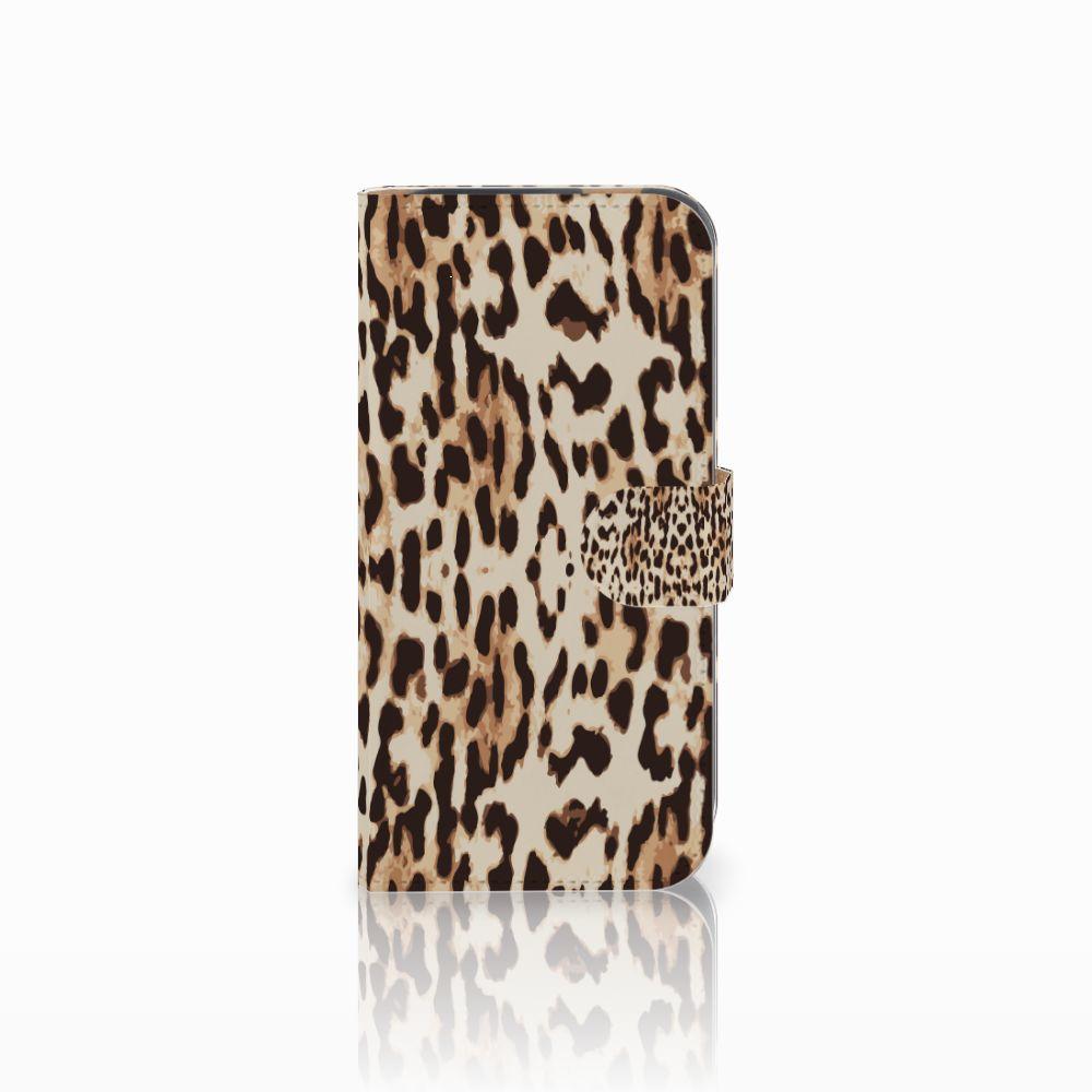 HTC One M8 Uniek Boekhoesje Leopard