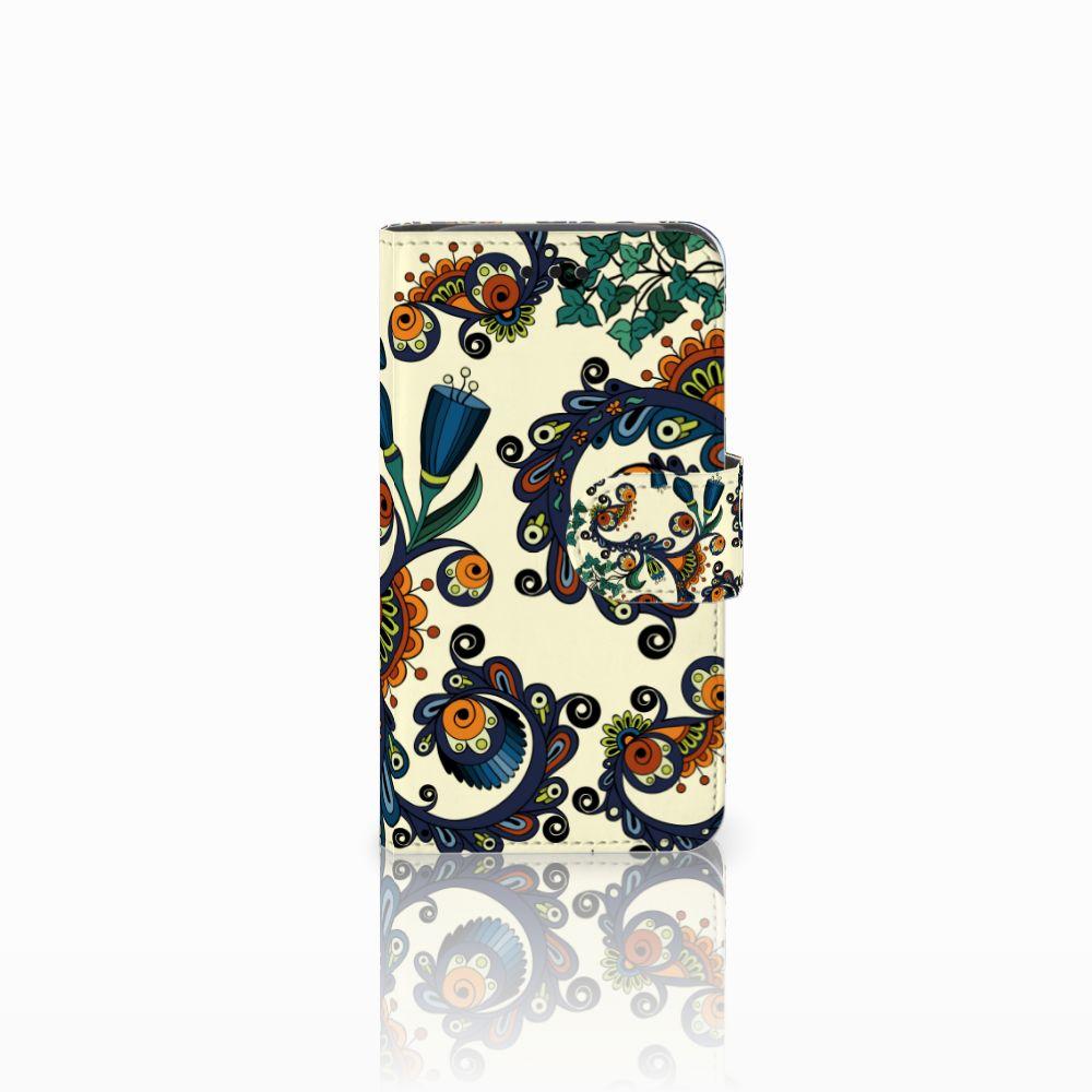 Samsung Galaxy Core i8260 Boekhoesje Design Barok Flower