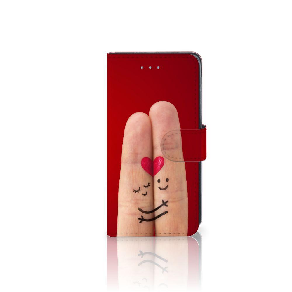 Samsung Galaxy J3 2016 Uniek Boekhoesje Liefde