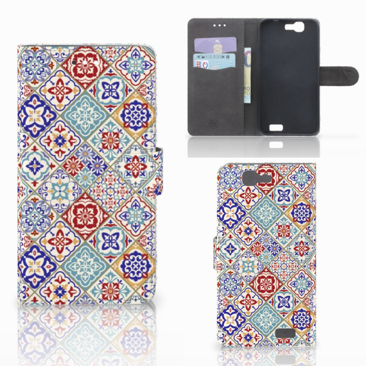 Huawei Ascend G7 Bookcase Tiles Color