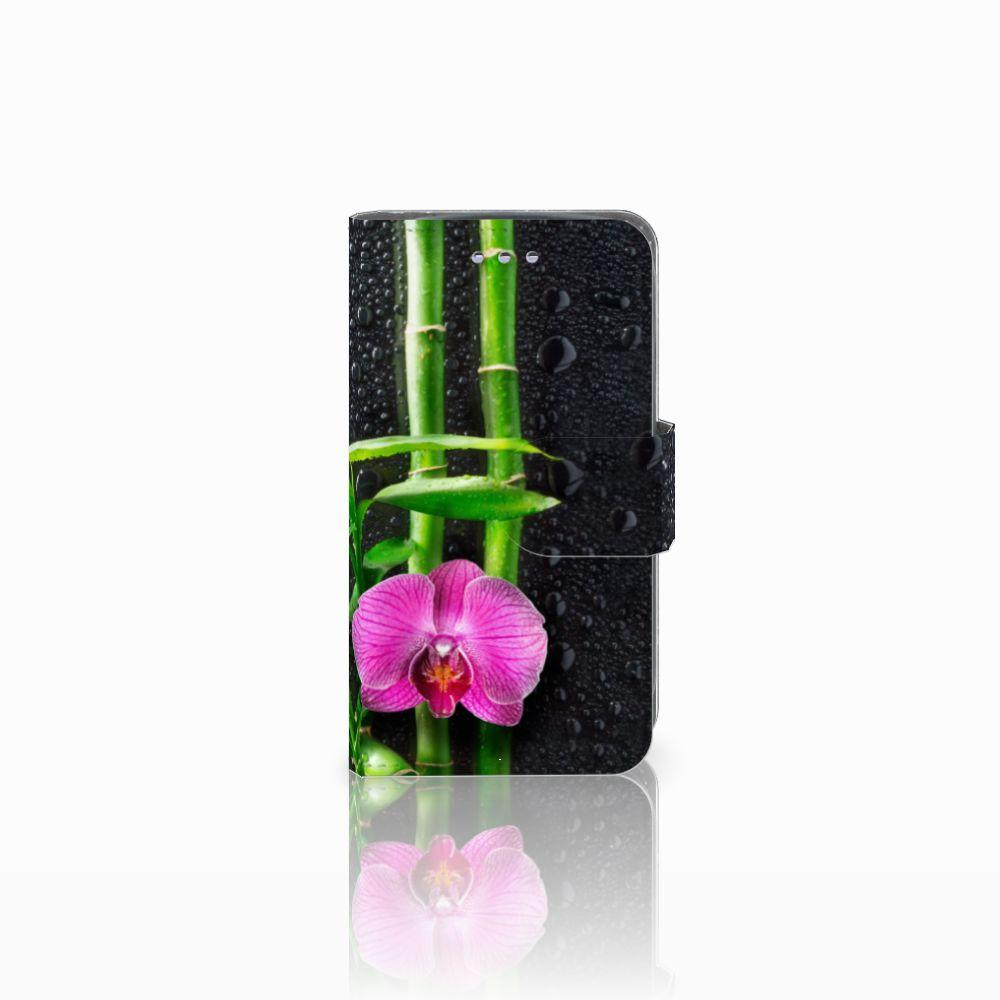 Samsung Galaxy S3 Mini Boekhoesje Design Orchidee