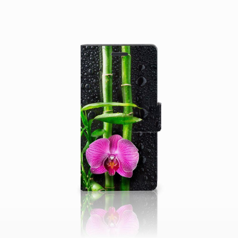 Nokia Lumia 830 Boekhoesje Design Orchidee