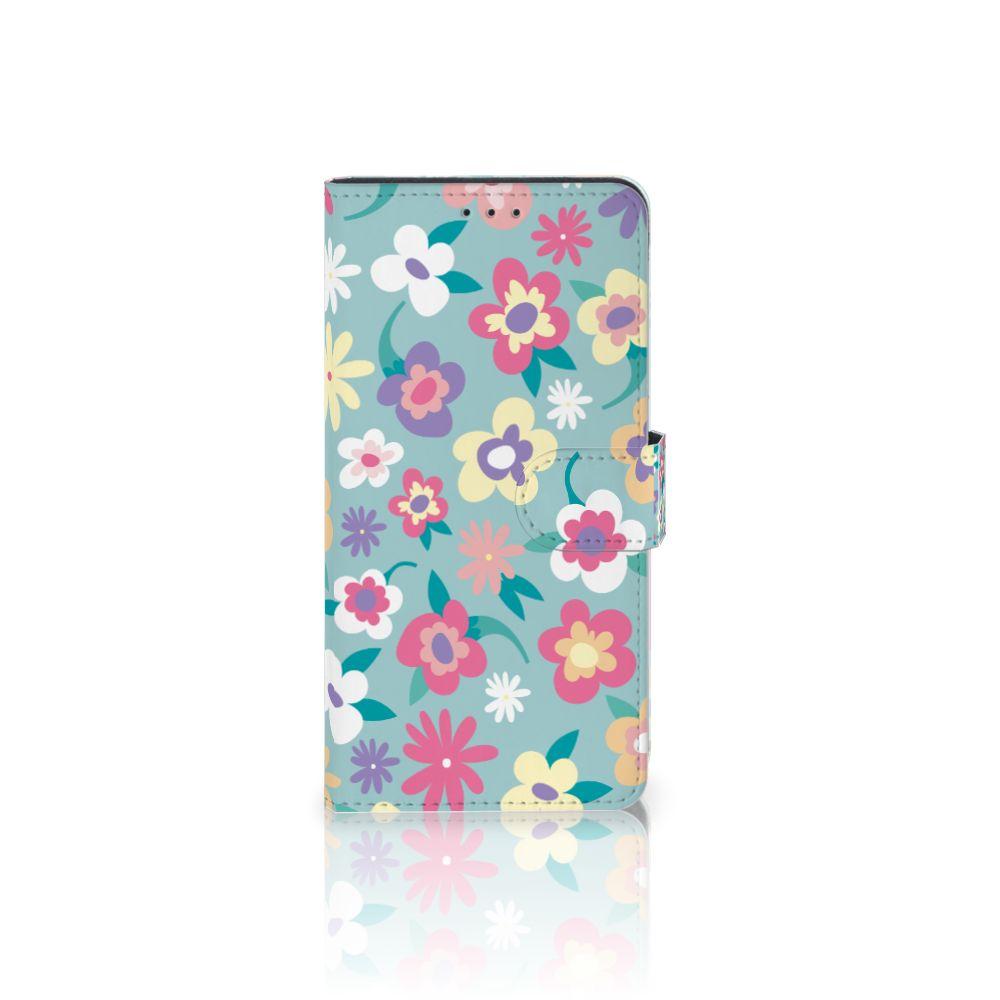 Samsung Galaxy A7 (2018) Boekhoesje Design Flower Power