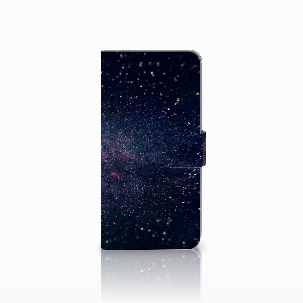 Samsung Galaxy A6 Plus 2018 Boekhoesje Design Stars
