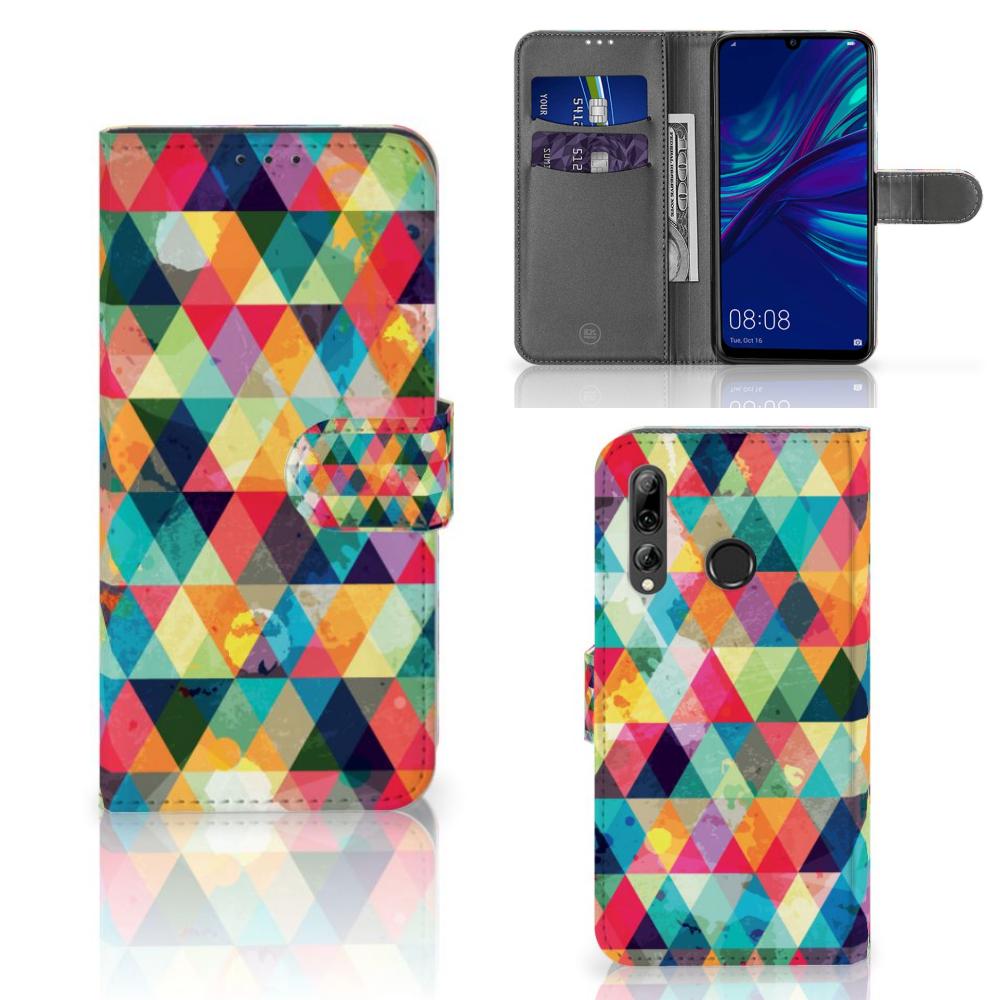Huawei P Smart 2019 Telefoon Hoesje Geruit