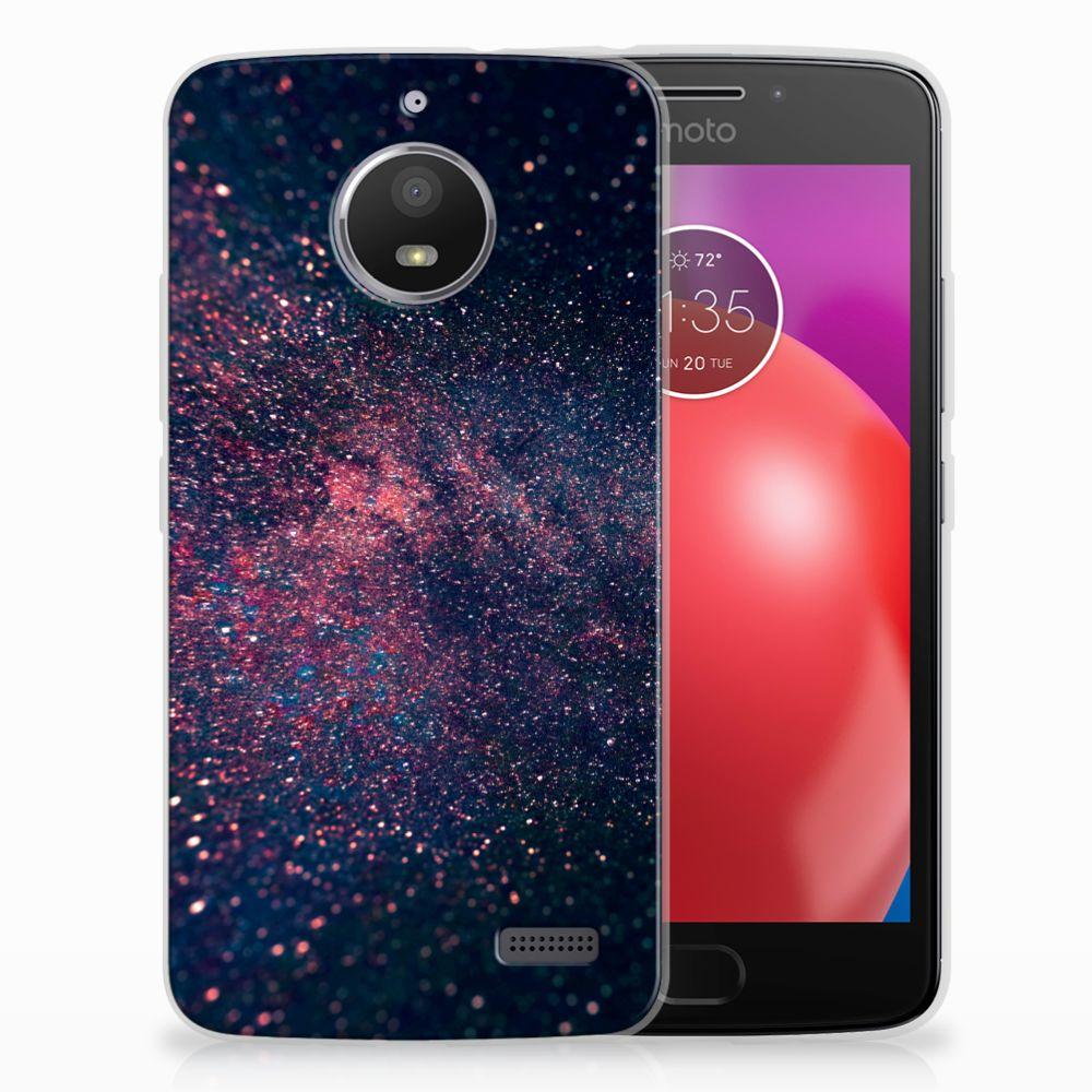 Motorola Moto E4 TPU Hoesje Stars