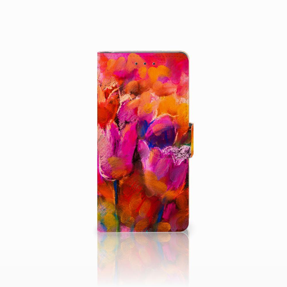 Samsung Galaxy Grand Prime | Grand Prime VE G531F Boekhoesje Design Tulips