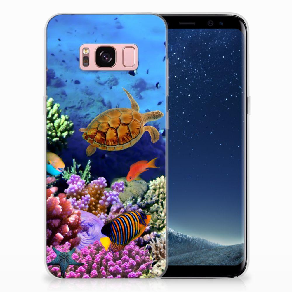Samsung Galaxy S8 TPU Hoesje Design Vissen