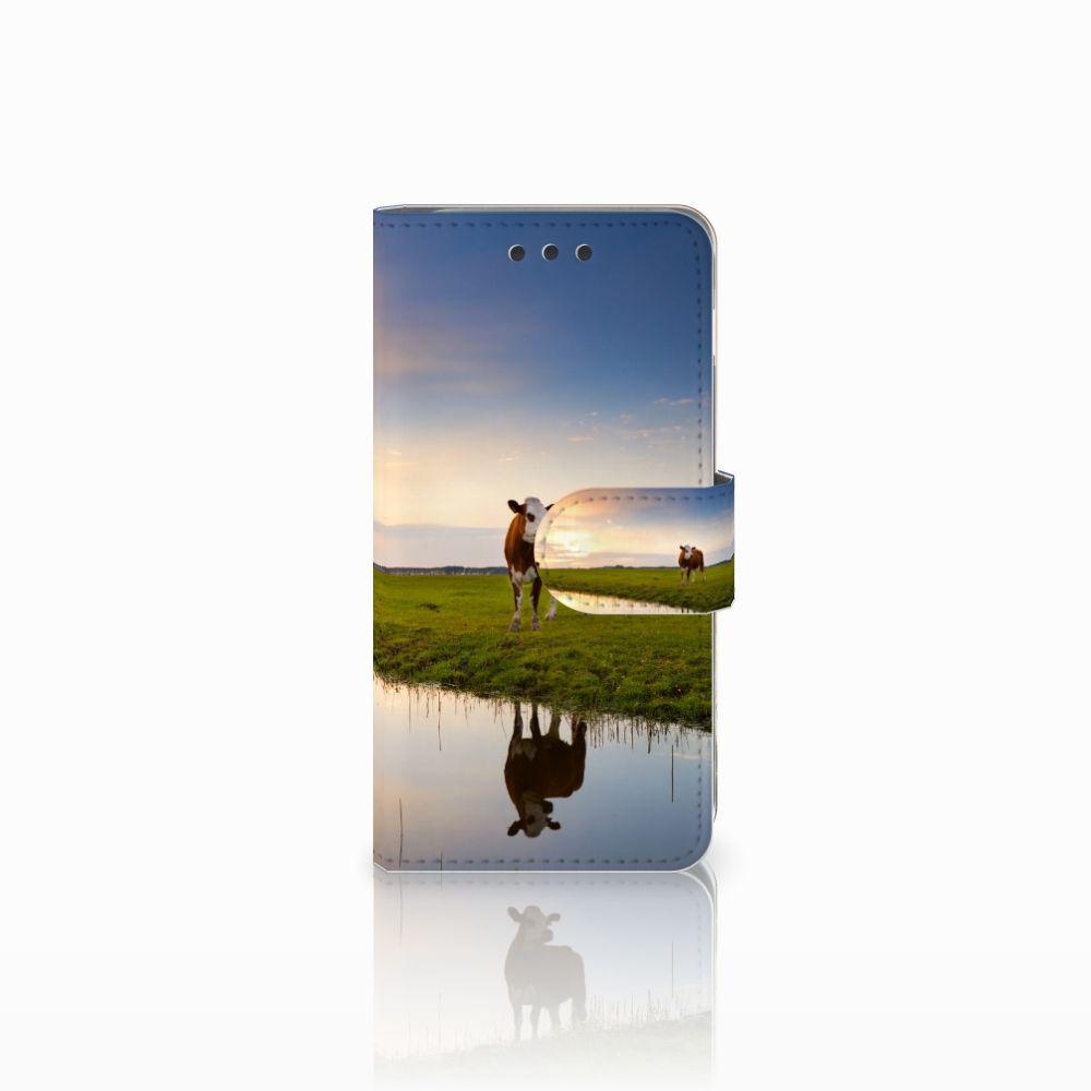 Samsung Galaxy A3 2016 Boekhoesje Design Koe
