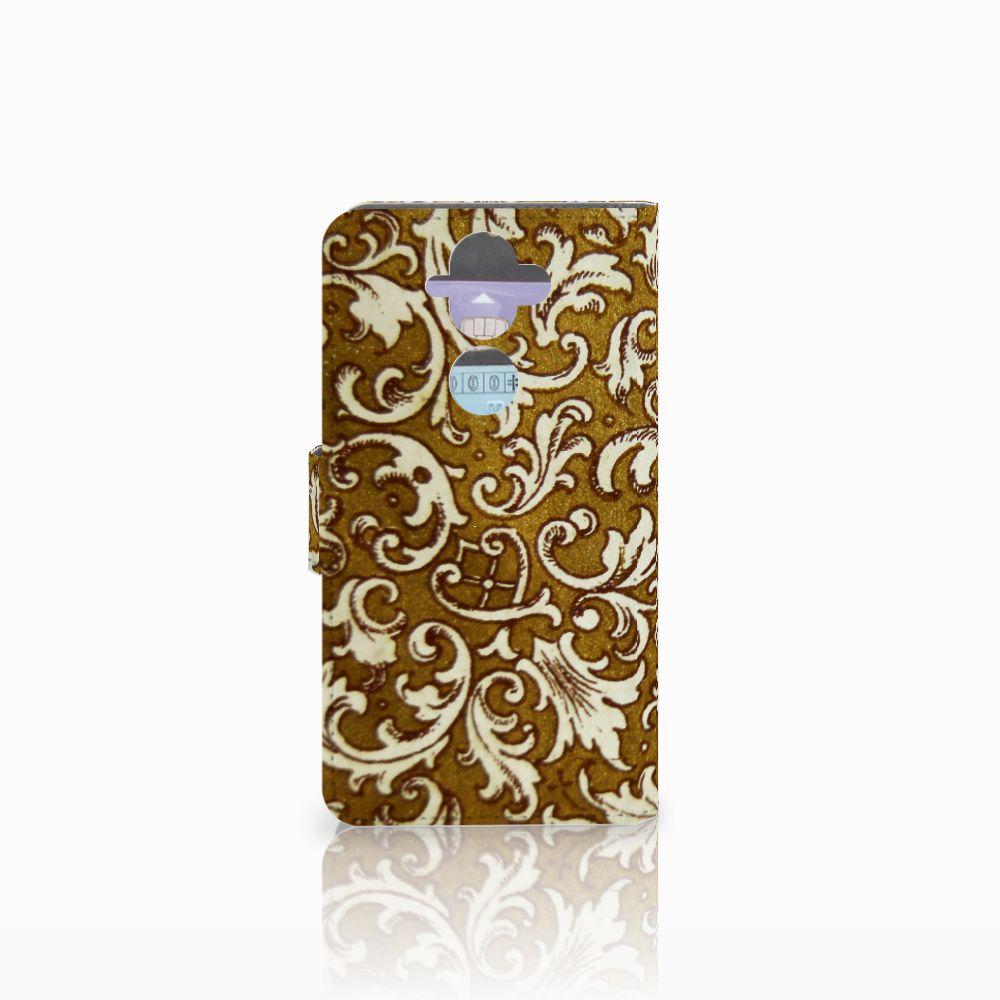 Wallet Case Nokia 8 Sirocco   Nokia 9 Barok Goud