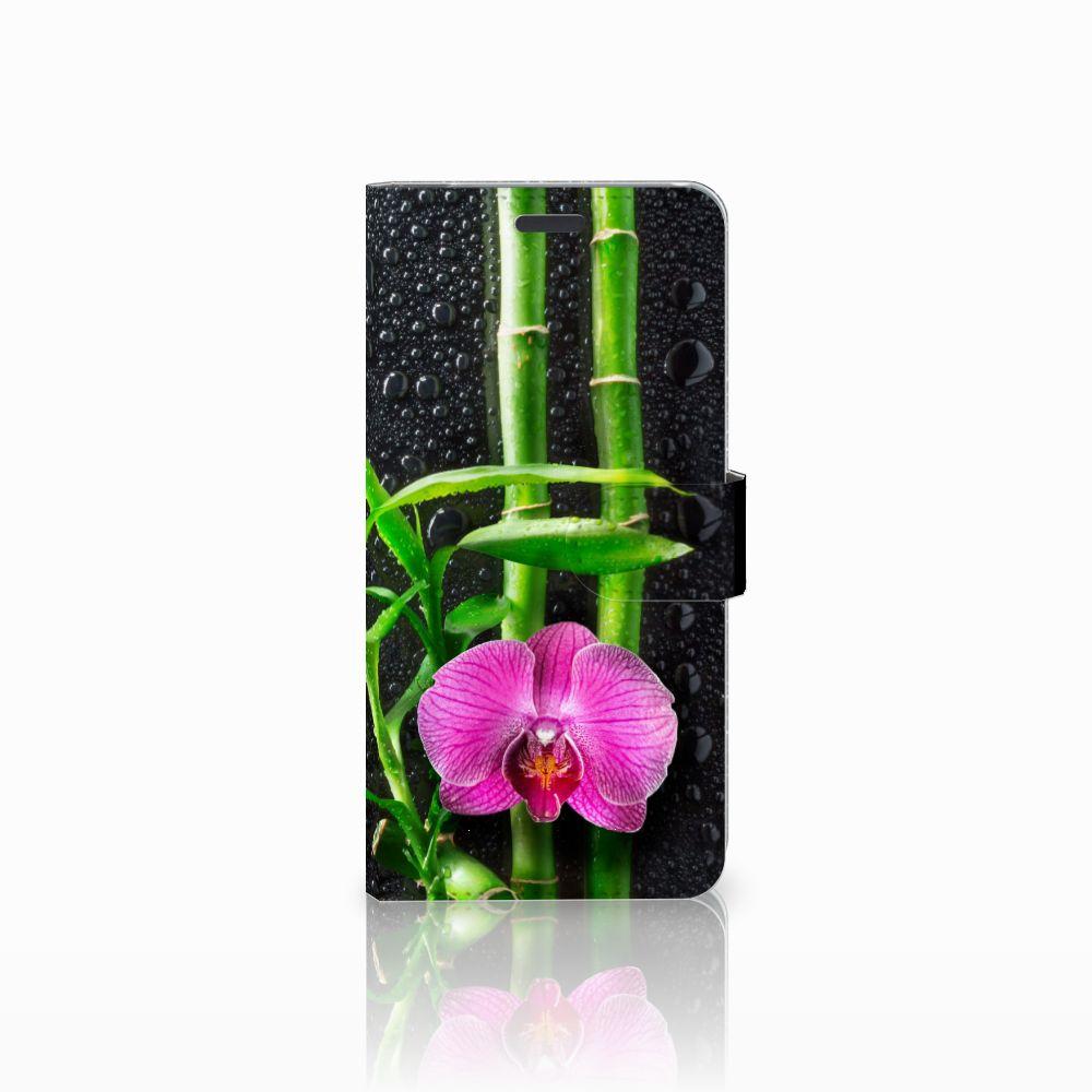 Samsung Galaxy S8 Plus Boekhoesje Design Orchidee
