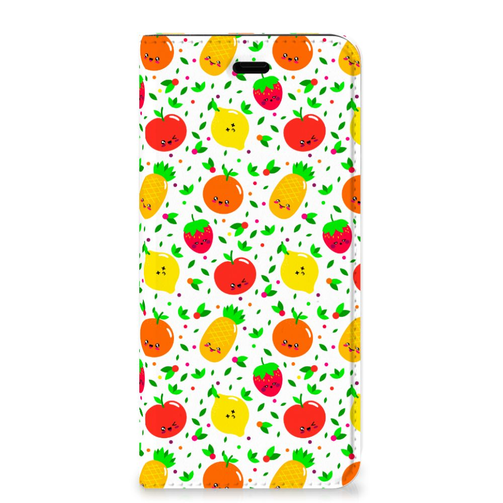 Huawei P10 Flip Style Cover Fruits