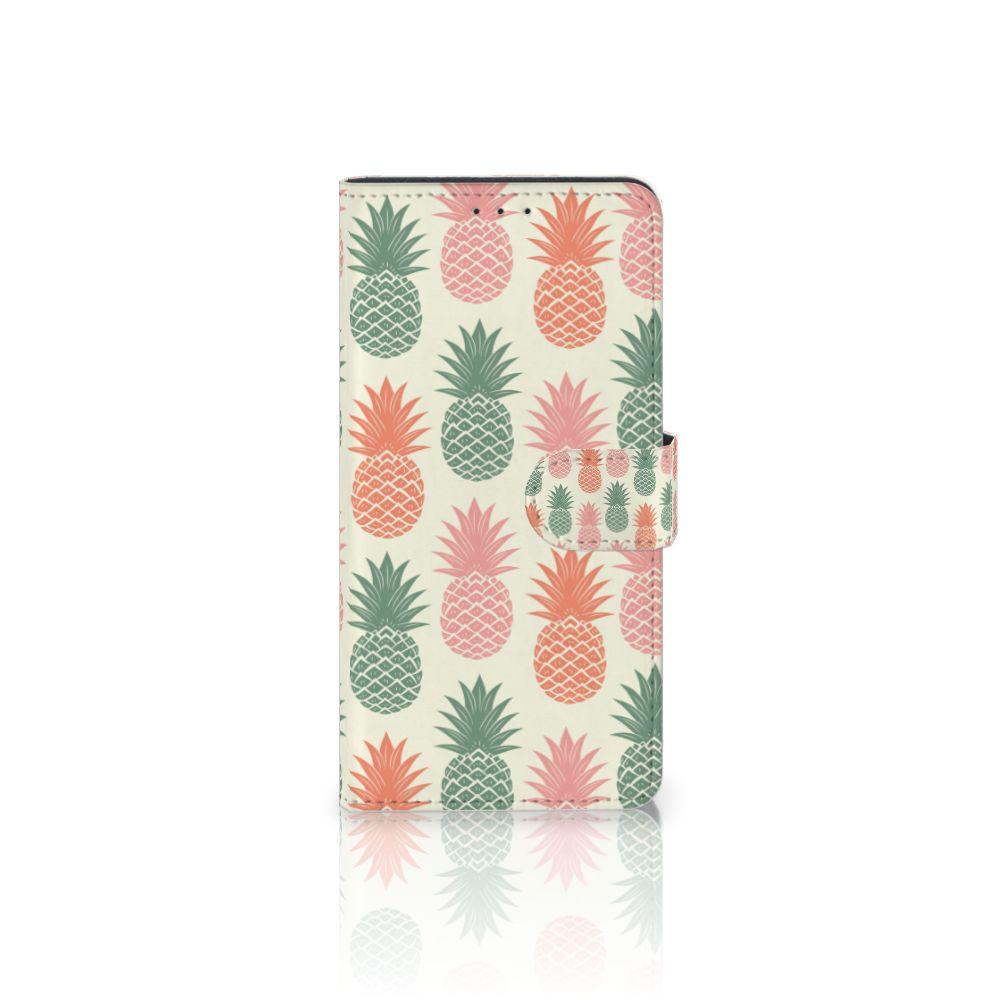 Motorola Moto Z Play Boekhoesje Design Ananas