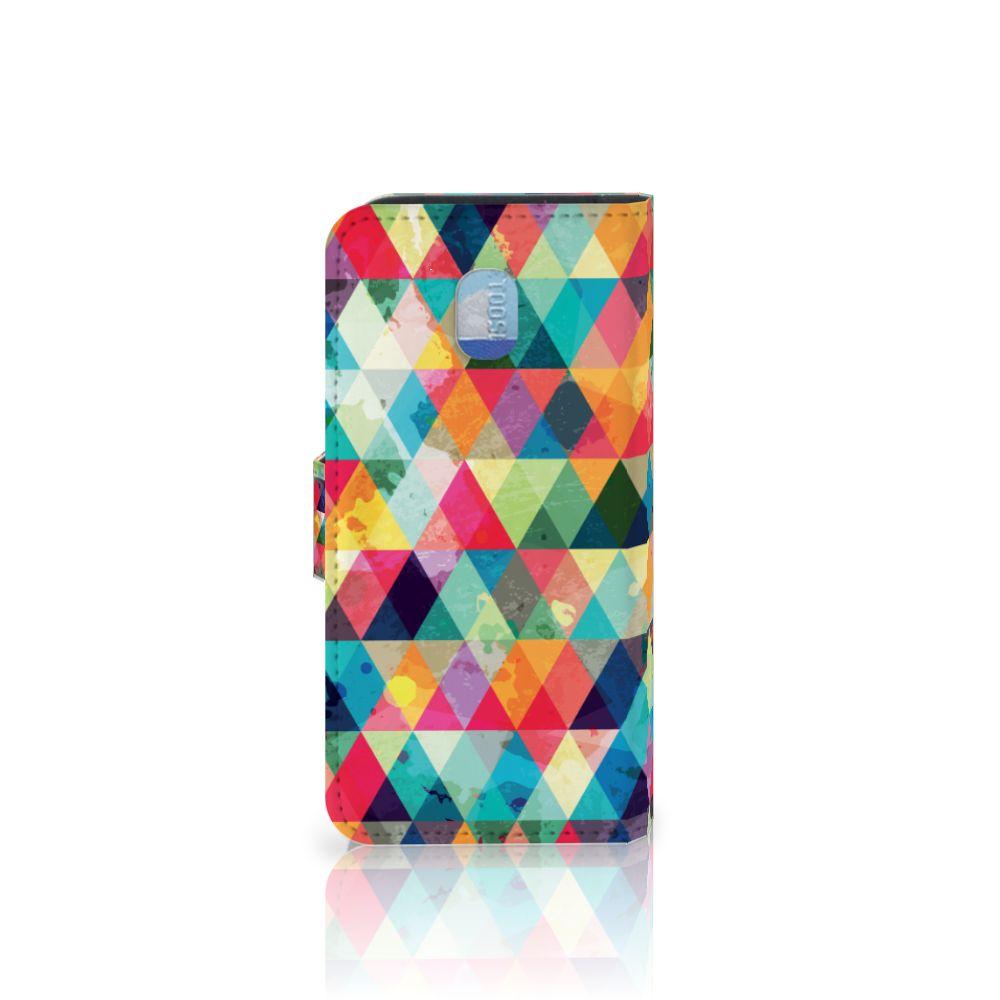 Samsung Galaxy J3 (2018) Telefoon Hoesje Geruit