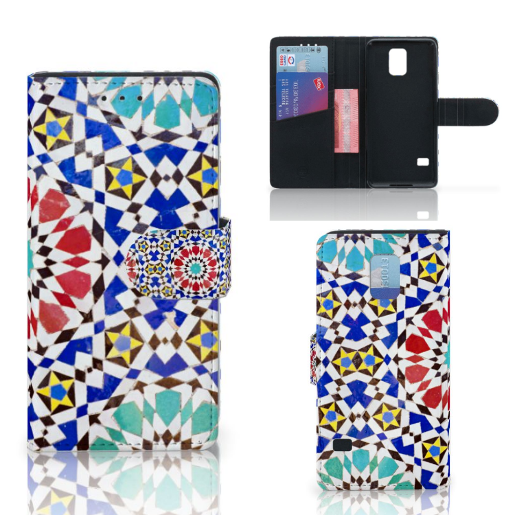 Samsung Galaxy S5 G900 Uniek Ontworpen Hoesje Mozaïek