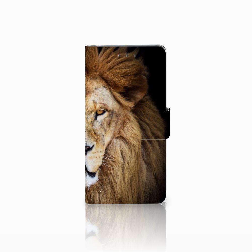 Samsung Galaxy Grand Prime | Grand Prime VE G531F Boekhoesje Design Leeuw