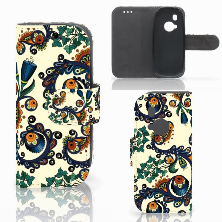 Wallet Case Nokia 3310 (2017) Barok Flower