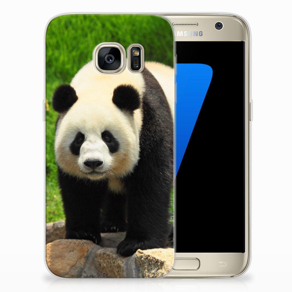 Samsung Galaxy S7 TPU Hoesje Design Panda