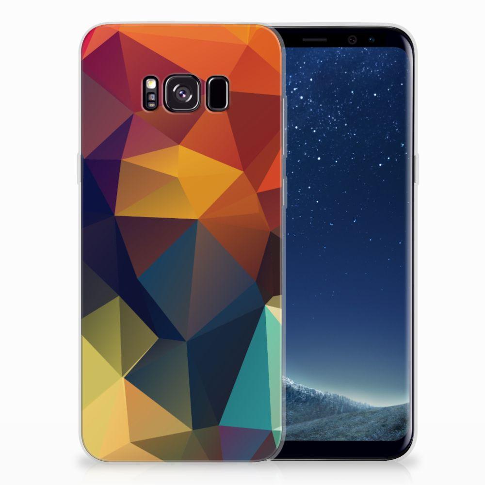 Samsung Galaxy S8 Plus TPU Hoesje Polygon Color