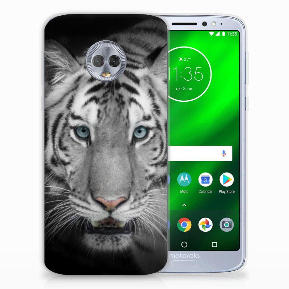 Motorola Moto G6 Plus TPU Hoesje Tijger