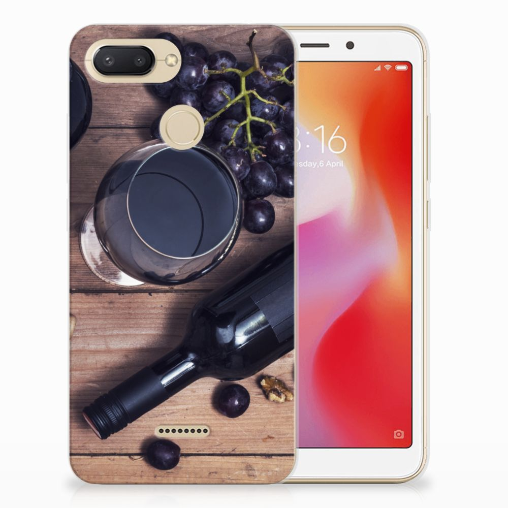 Xiaomi Redmi 6 Siliconen Case Wijn