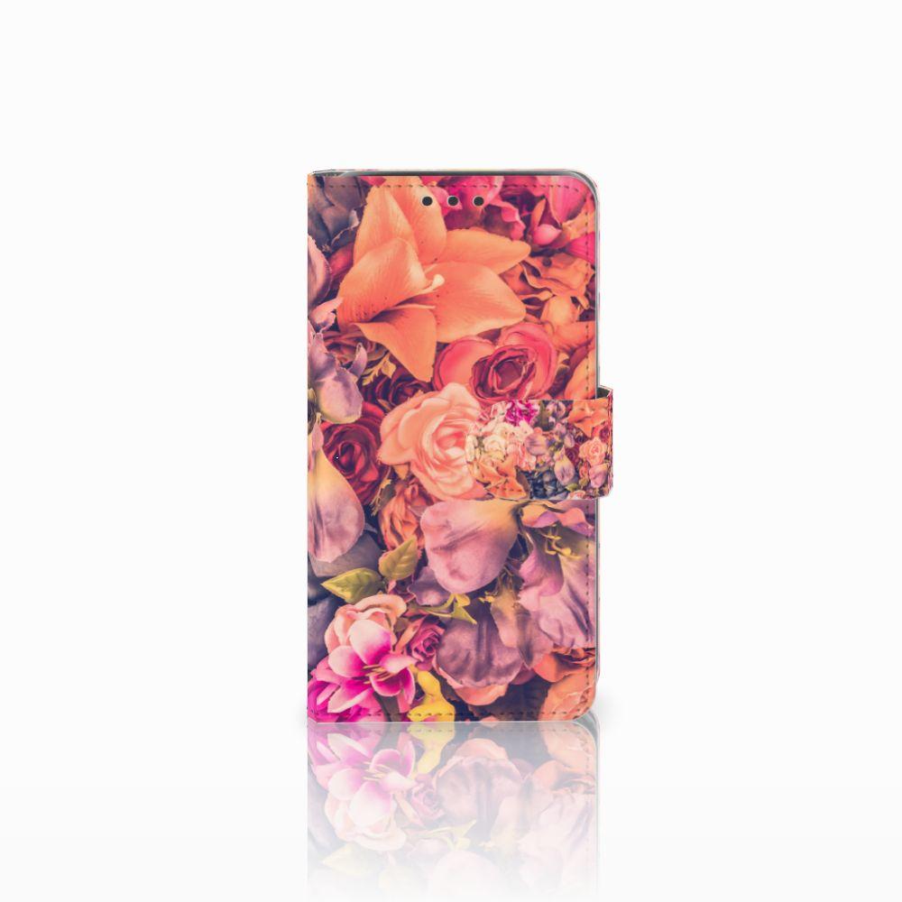 Samsung Galaxy J5 (2015) Boekhoesje Design Bosje Bloemen