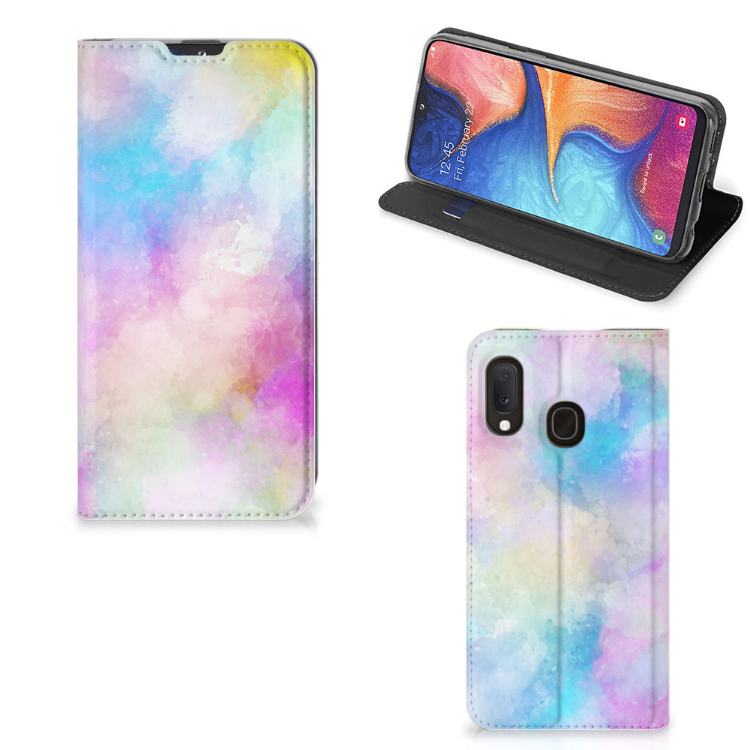Bookcase Samsung Galaxy A20e Watercolor Light