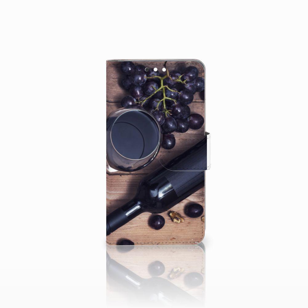 Nokia 8 Sirocco | Nokia 9 Uniek Boekhoesje Wijn
