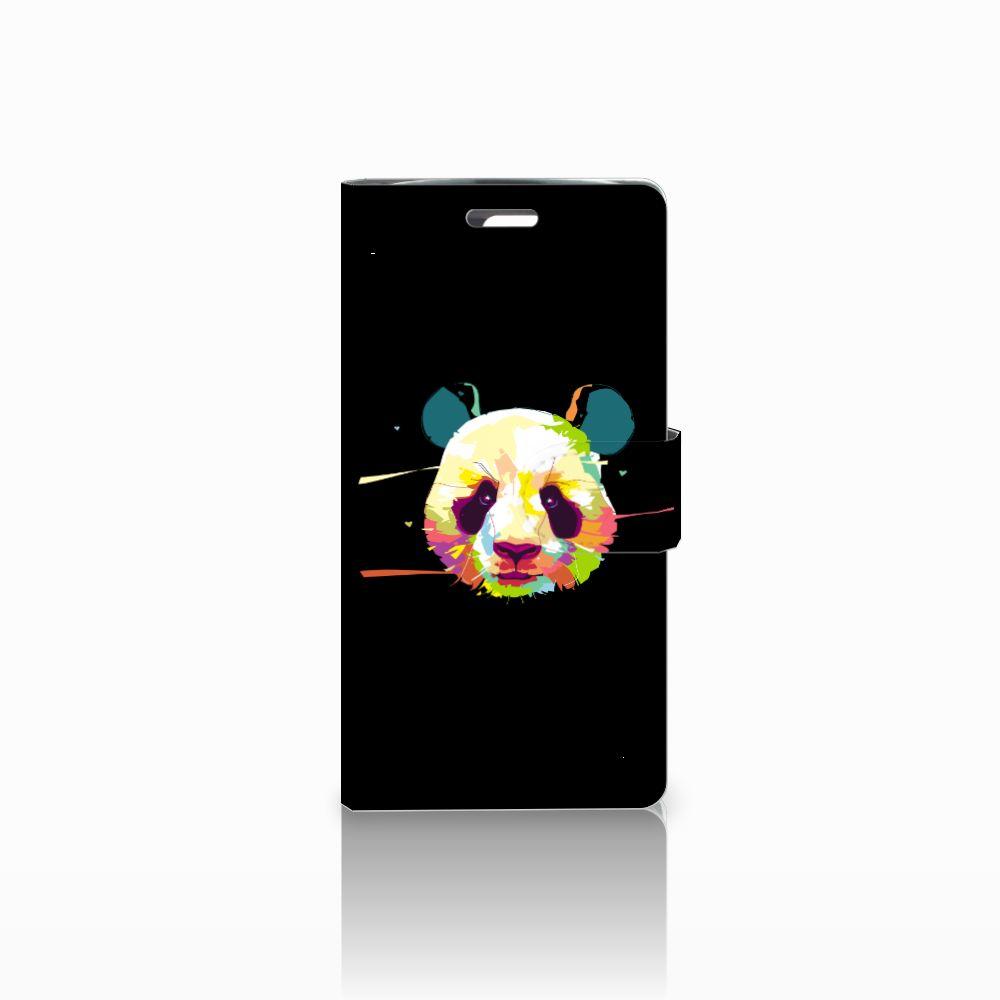 LG K10 2015 Boekhoesje Design Panda Color