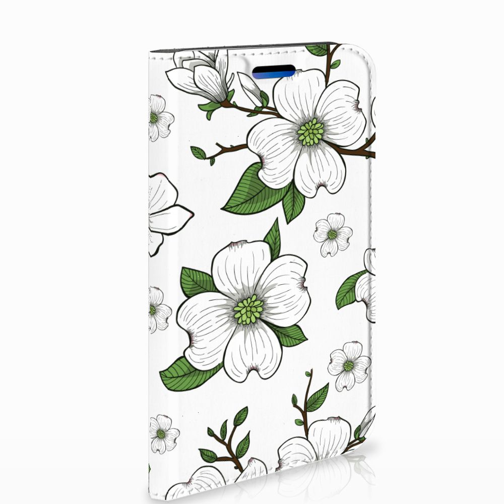 Apple iPhone X | Xs Standcase Hoesje Design Dogwood Flowers