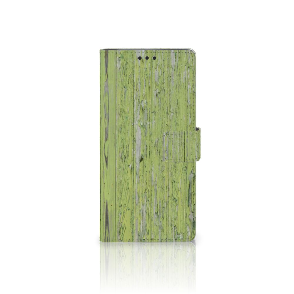 Sony Xperia XA Ultra Boekhoesje Design Green Wood