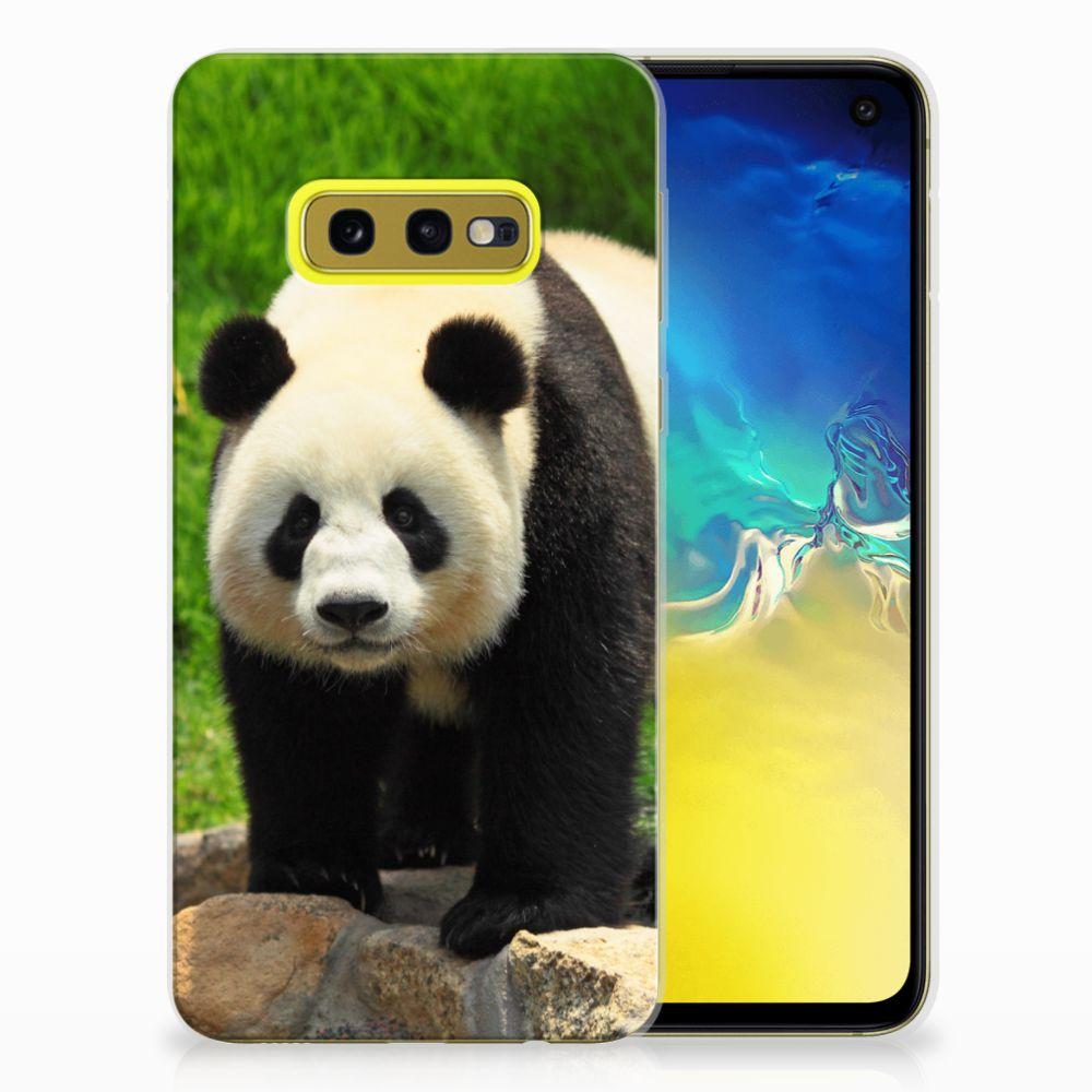 Samsung Galaxy S10e TPU Hoesje Panda