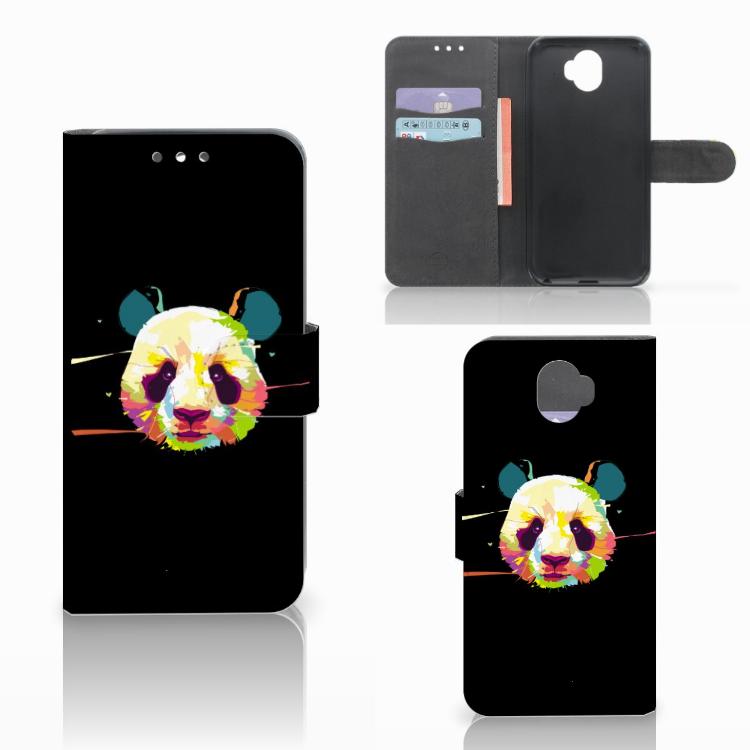 Wiko Wim Leuk Hoesje Panda Color