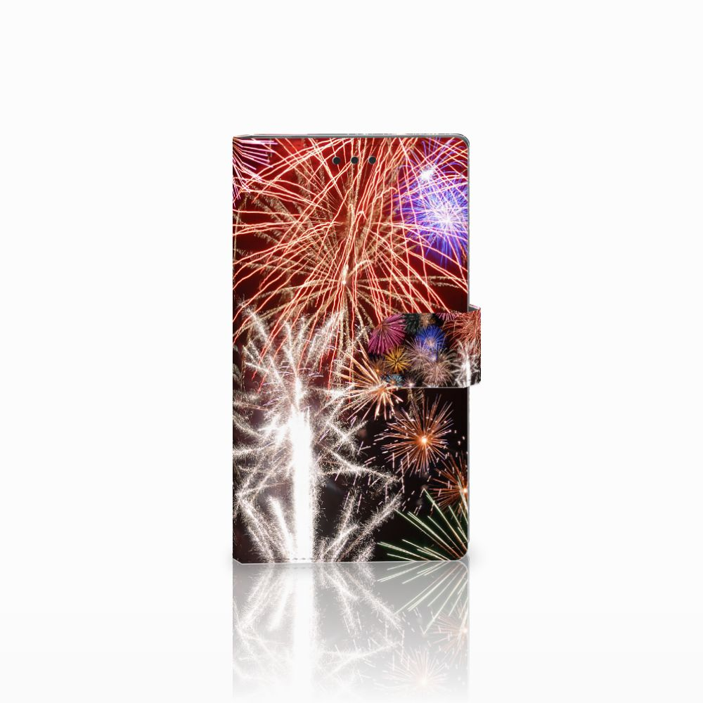 Sony Xperia L2 Boekhoesje Design Vuurwerk